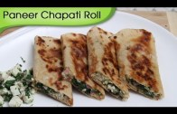Paneer Chapati Roll – Snacks From Leftover Food – Kids Special Tiffin Recipe By Ruchi Bharani