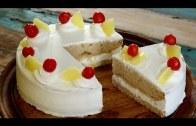 Pineapple Cake Recipe – Eggless Recipe – Homemeade Pineapple Cake Recipe – Cake Recipe By Upasana