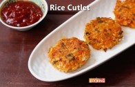Rice Cutlet – Rice Potato Cutlet Recipe – Leftover rice Tikki – Ventuno Home Cooking