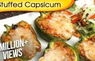 Stuffed Capsicum – Easy To Make Homemade Starter – Party Appetizer Recipe By Ruchi Bharani