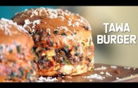 Tawa Burger – Indian Street Food – Burger Recipe