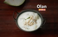 Kerala Olan – Ash Gourd Curry with Coconut milk – Sadya Recipe