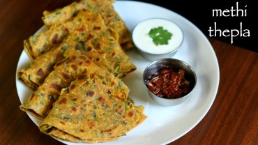 methi thepla recipe – methi ka thepla recipe – methi na thepla recipe