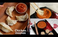 Momos – Veg & Non Veg – Recipe with Chutney Compilation
