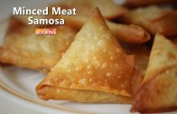 Mutton Samosa – Minced meat Samosa – Homemade Keema Samosa Recipe