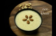 rice kheer recipe – rice payasam recipe – paal payasam recipe