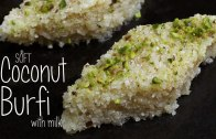 Soft Coconut Burfi with milk – Home Cooking