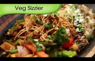 Veg Sizzler In Soya Chilli Sauce – Asian Vegetable Sizzler Recipe by Ruchi Bharani