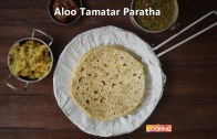 Aloo Tomato Paratha – Potato Stuffed Indian Bread Recipe