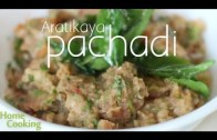 Aratikaya Pachadi – Plantain Chutney – Recipe – Ventuno Home Cooking