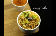 vangi bath recipe – brinjal rice recipe – vangi bhath recipe – vangi bhath masala