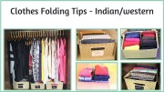 Clothes Folding Tips – Indian And Western Clothes