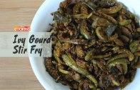 Ivy Gourd Stir Fry – Kovakkai poriyal  –  Ventuno Home Cooking