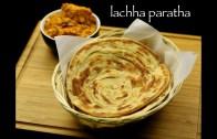lachha paratha recipe – lachha parantha recipe