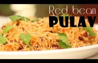 Red bean pulav Recipe – Ventuno Home Cooking