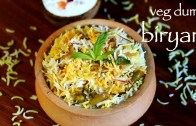 veg dum biryani – hyderabadi veg biryani recipe – how to make hyderabadi biryani