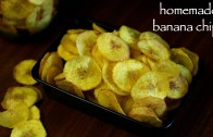 banana chips recipe – banana wafers recipe – kerala banana chips
