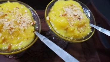 Plantain pudding – banana pudding – nendra pazham pudding