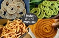 4 instant chakli recipes for krishna janmashtami – easy murukku recipes for krishna jayanthi