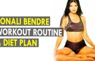 Sonali Bendre Workout Routine & Diet Plan – Health Sutra – Best Health Tips