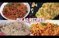 4 Easy and Delicious  Pulao Recipes – Lunch-Box Recipes – Vegetarian Pulao Recipes