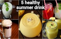 5 refreshing summer drinks recipe – ५ तरीके के मिल्कशेक गर्मियों के लिए – summer milkshake recipes