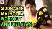 Siddharth Malhotra workout and diet plan – Health Sutra – Best Health Tips