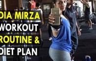 Dia Mirza Workout Routine & Diet Plan – Health Sutra – Best Health Tips