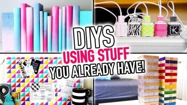6 DIYS Using Stuff You Already Have Around Your House – DIY Compilation Video – HGTV Handmade