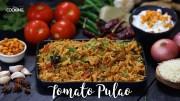 Tomato Pulao – Tomato rice recipe