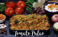Tomato Pulao – Tomato rice recipe