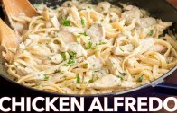 Chicken Fettuccine Alfredo Recipe – Easy Dinner