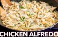 Chicken Fettuccine Alfredo Recipe – Easy Dinner