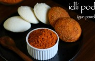 idli podi recipe – milagai podi recipe – idli milagai podi – gunpowder recipe