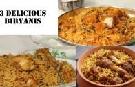 3 Delicious Biryani recipes