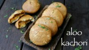 aloo kachori recipe – aloo ki kachori recipe – potato stuffed kachori
