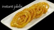 instant jalebi recipe – homemade crispy jalebi recipe –  perfect jalebi at home – easy & quick