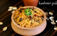 kashmiri pulao recipe – saffron rice recipe – how to make kashmiri pulav
