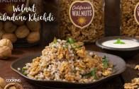 Walnut Sabudana Khichdi – Virat Recipes – Healthy Reicpes