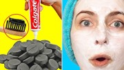 Some Surprising Beauty Hacks &amp – Life Hacks Using Toothpaste – Remove Dark Spots, Get Soft Pink Lips