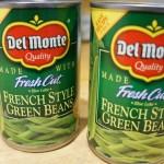 Challenge: Green Beans canned vs. fresh