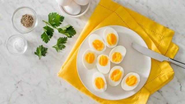boiled eggs in air fryer