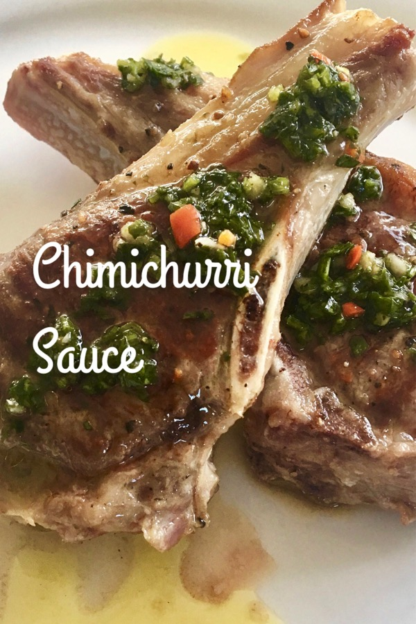Chimichurri, Grilled Meat Sauce | cookglobaleatlocal.com