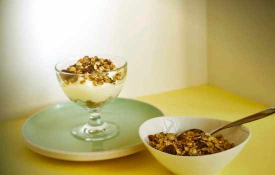 Orange-Scented Cranberry Cacao Granola