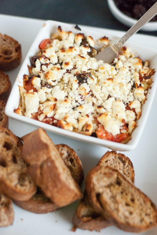 tomato and feta tapas recipe