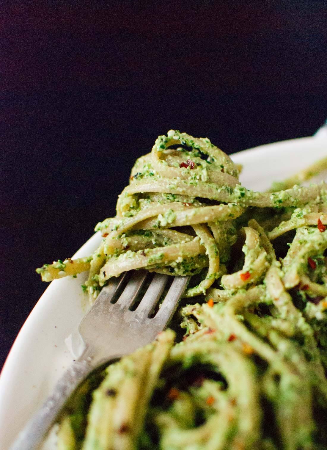 Super Kale Pesto Recipe Cookie And Kate