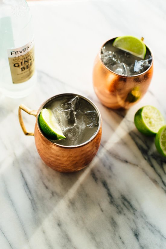 Classic Moscow Mule - Cocktail Recipes for Summer