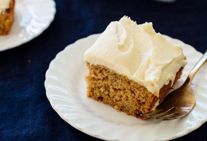 Favorite Banana Cake Recipe Cookie And Kate