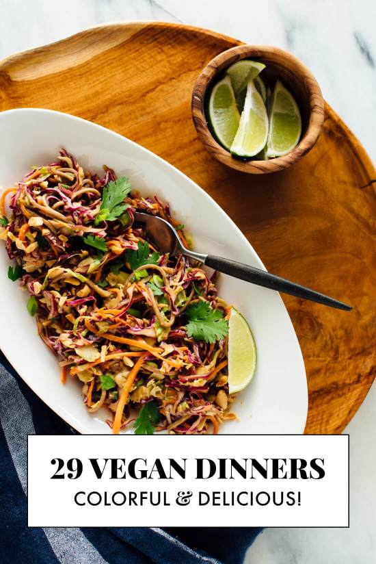 29 vegan dinner recipes