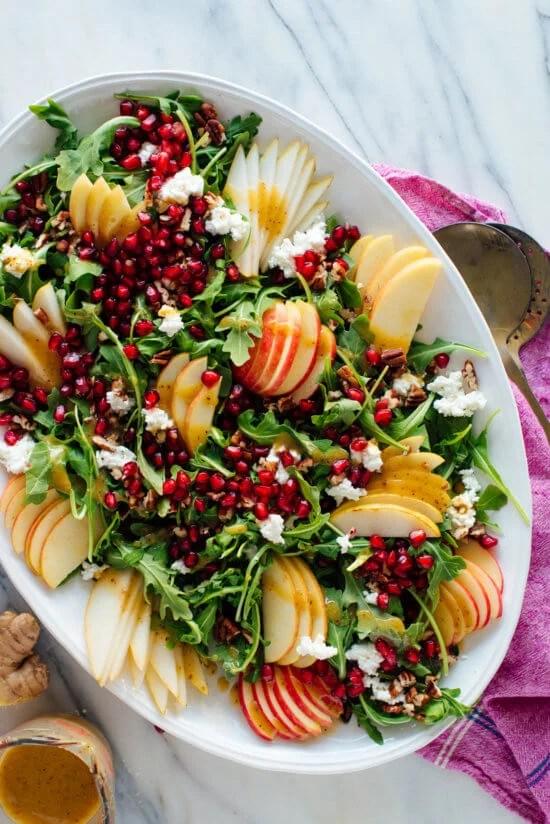 Pear Pomegranate Salad